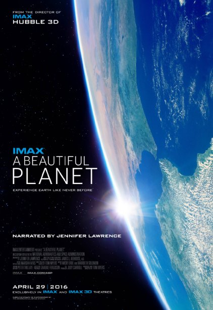 'A Beautiful Planet' movie poster. Credit: IMAX