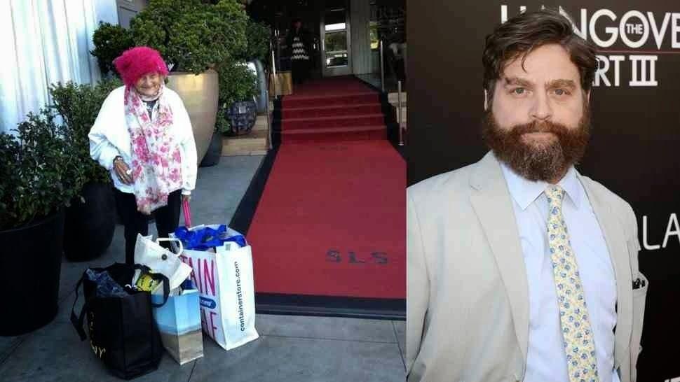 Emberségből jeles: Hajléktalanba karolva sétált végig a vörös szőnyegen a színész!