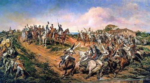 #PraCegoVer: Independência ou Morte é uma pintura de Pedro Américo.