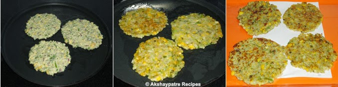shallow fried patties