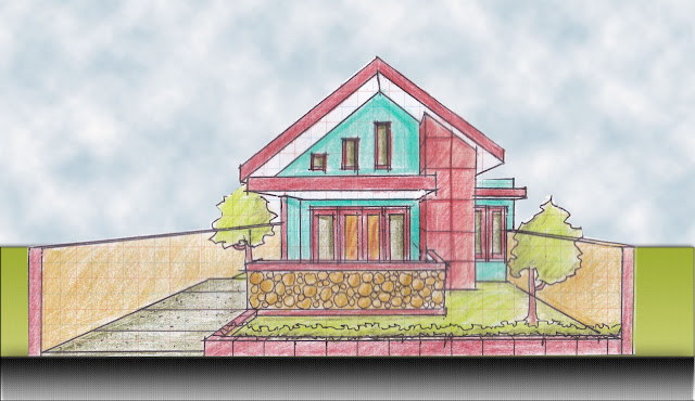 view of house plan A-06