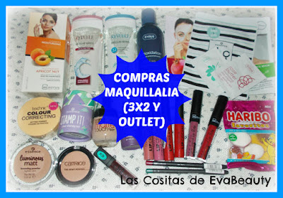Compras Maquillalia (3x2 y Outlet)