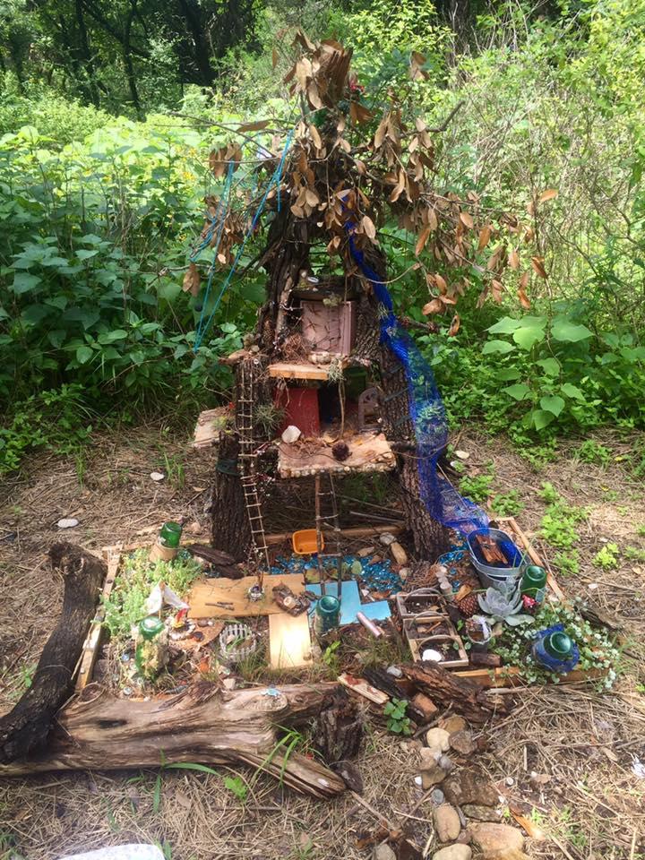 Austin mogger walk along the fairy trail at zilker park - When you walk through the garden ...