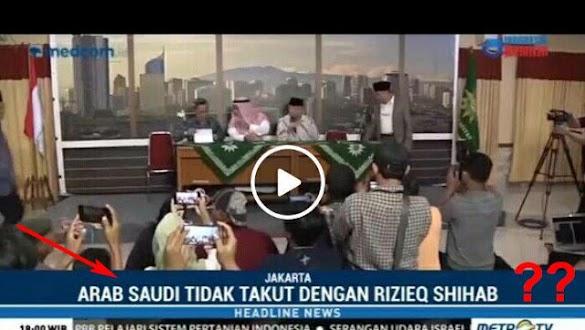Penjelasan Dubes Saudi Kasus HRS, Judul MetroTV Dinilai Tendensius, Warganet Geram