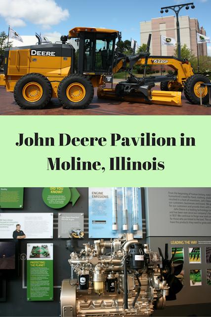 John Deere Pavilion in Moline, Illinois