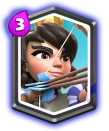 Princesa de Clash Royale
