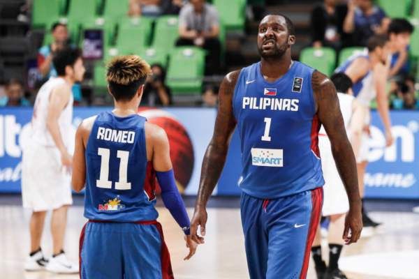Terrence Romeo and Andray Blatche against Japan