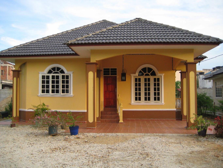 Desain teras rumah kampung dan desa Buatrumahidaman