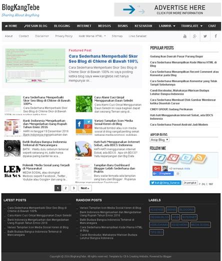 Blog kangtebe.net