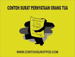 Gambar untuk Contoh Surat Pernyataan Orang Tua