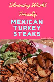 Slimming world Mexican turkey steaks recipe