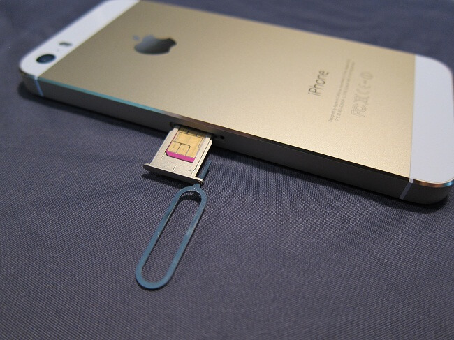 how to remove sim card from iphone 6