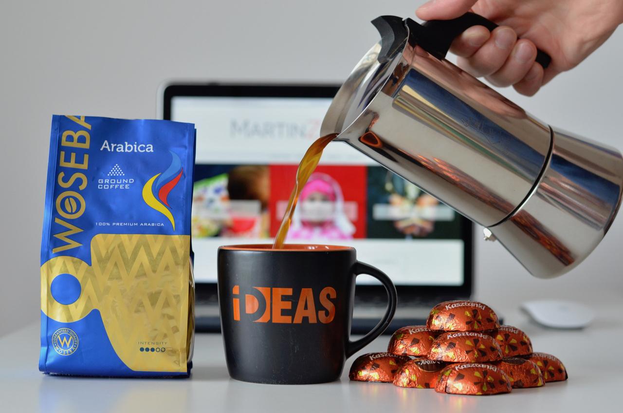 Kawa i czekoladki sposobem na kreatywność? Sprawdzam!