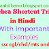 Algebra Shortcut Tricks for SSC-CGL/CHSL/MTS and RRB in Hindi pdf Download