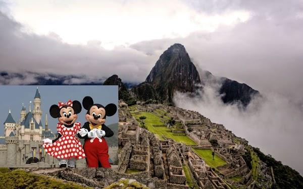 Para atraer turismo, congresista de Perú propone construir un Disney World cerca de Machu Picchu