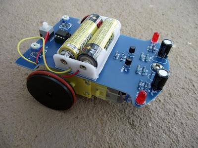 kit de robô seguidor de linha