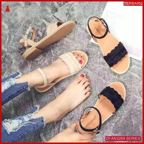 DFAN3269S76 Sepatu Hk 25 Sandal Wanita Teplek Flip BMGShop