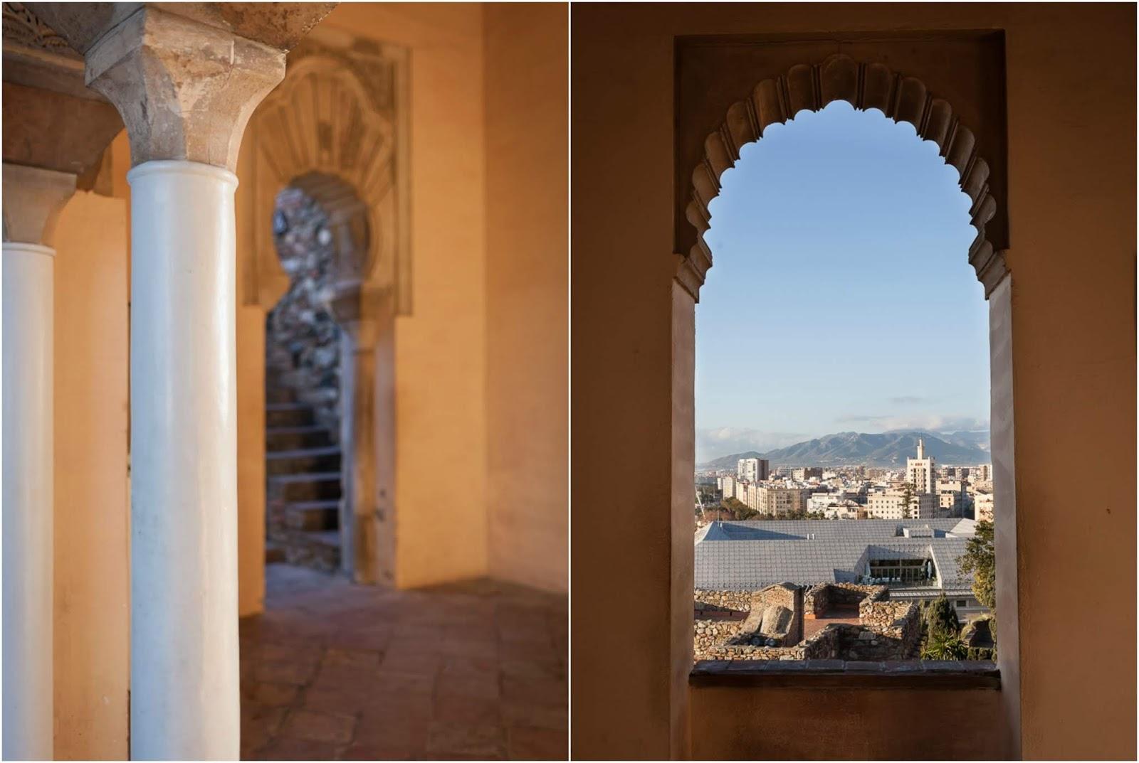 Malaga in morning light