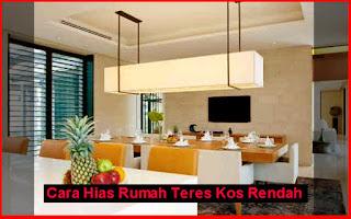 Rabu 11 November 2017 Home Dekorasi Rumah Teres Cara Hias Kos Rendah