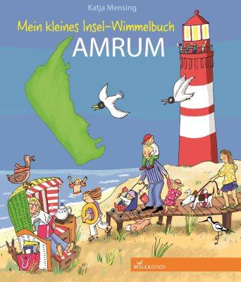 Das Bücherboot: Kinderbücher aus dem Norden. Das Insel-Wimmelbuch Amrum eignet sich super für Kleinkinder ab 2 Jahren.
