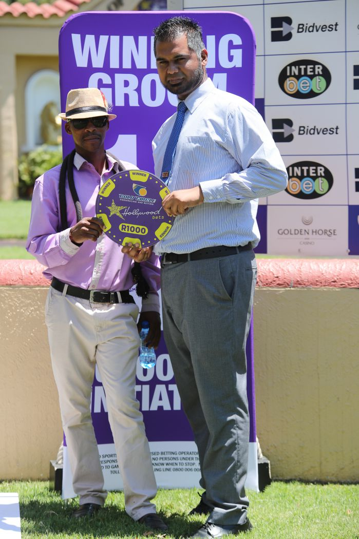 Grooms' Initiative Winners - 5th February 2020 - Hollywoodbets Scottsville - Race 1 - Sandile Jack - SOFIA ERIN