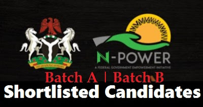 N-Power Second Phase Shortlisted Candidates | NPower 2nd Batch Registration