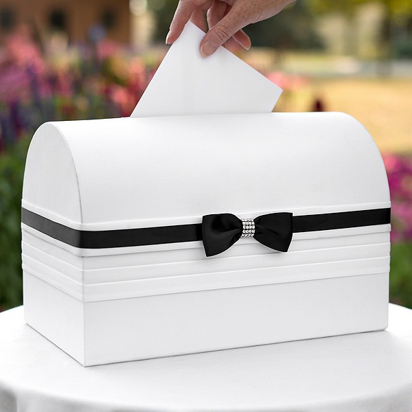 Refined Romance Treasure Chest Card Box