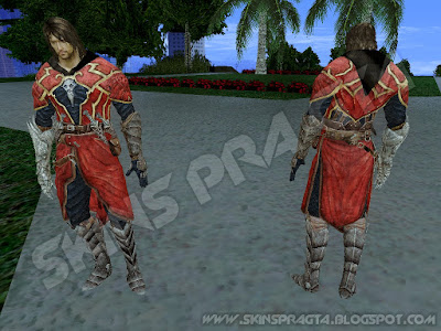 GTA SA - Skin Gabriel Belmont From Castlevania: Lord of Shadow
