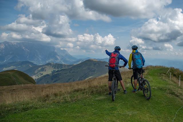 E-Bike Tour zum Statzer-Haus auf dem Hundstein  Region Hochkönig 01