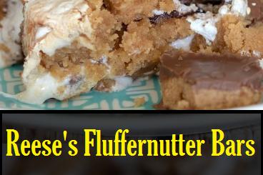 Reese's Fluffernutter Bars