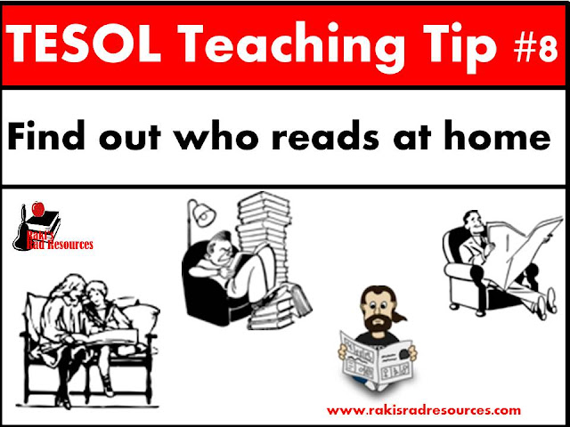 TESOL Teaching Tip - Know which of your esl or ell students can read in their home language because it makes a big difference in how they will learn a new language. Read more details at my blog - Raki's Rad Resources.