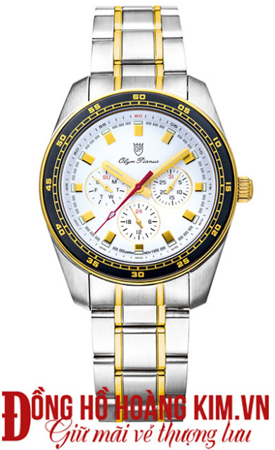 Đồng hồ đeo tay nam dây inox olym pianus đáng mua nhất 2016