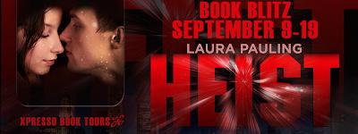 HEIST by Laura Pauling Book Blitz
