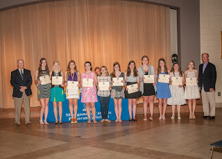Montgomery Catholic High School Academic Awards Ceremony Held May 9 3