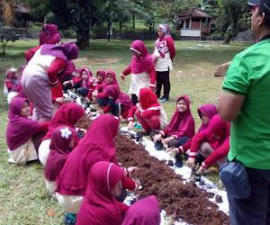 outbound anak, agro dan edukasi di sentul