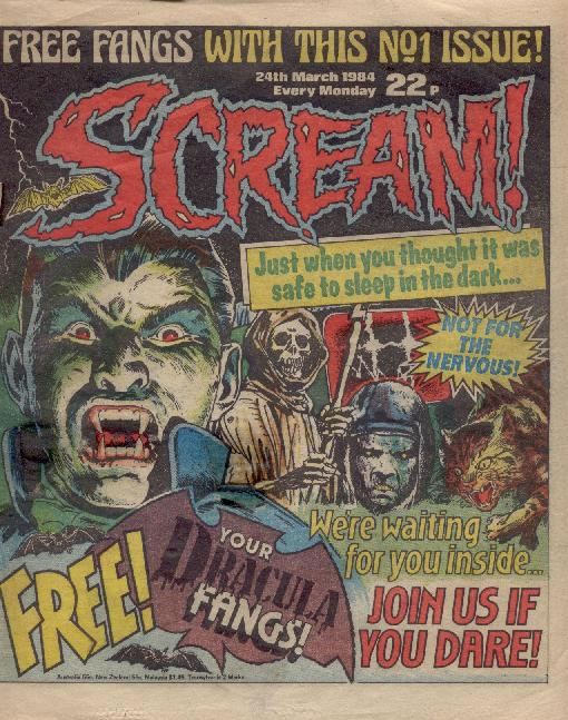 Toys Toys Toys Co Uk Do You Remember The Scream Comic
