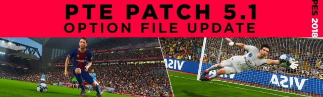 PES 2018 PTE Patch 5.1 OF Update Weekly (14-07-2018)