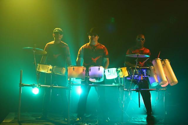 Sham Rock drum jam.