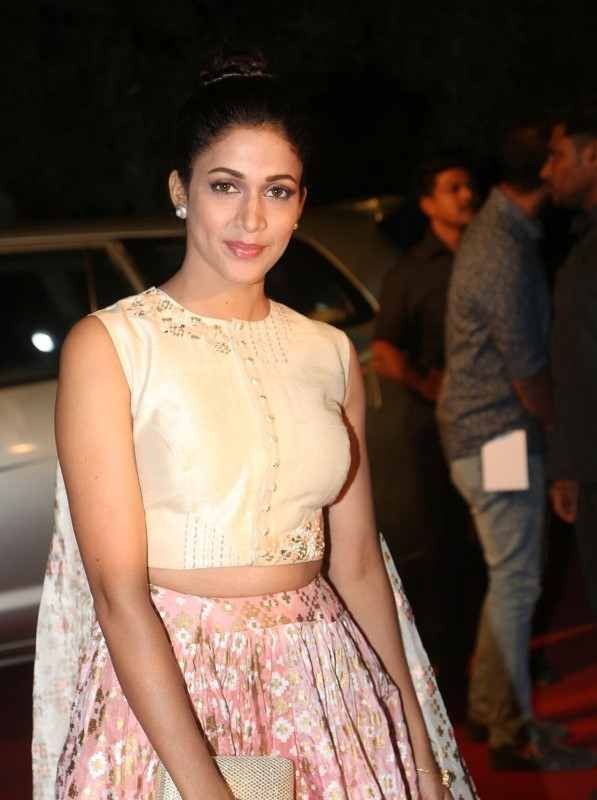 Actress At TV Awards In Pink Dress Lavanya Tripathi