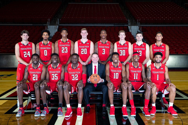 eb1d0f061 Texas Tech 2018-19 Men s Basketball Roster