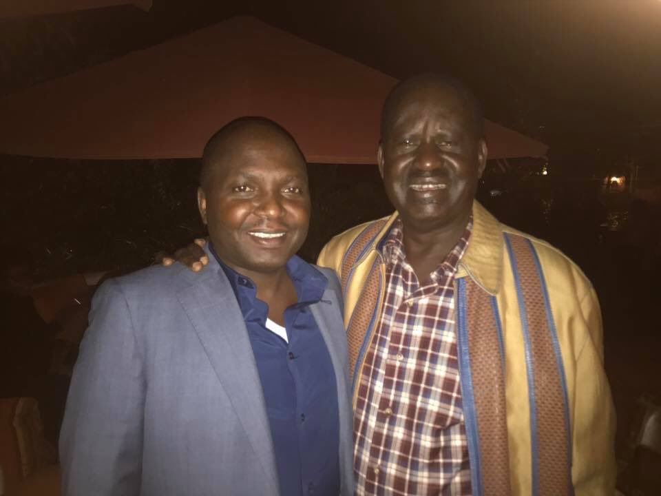 Donald Kipkorir With Raila Odinga Endorsement
