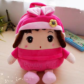 Tas Boneka Anak Prety tangan Kaki