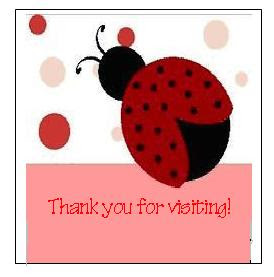 Thank you for visiting ladybug