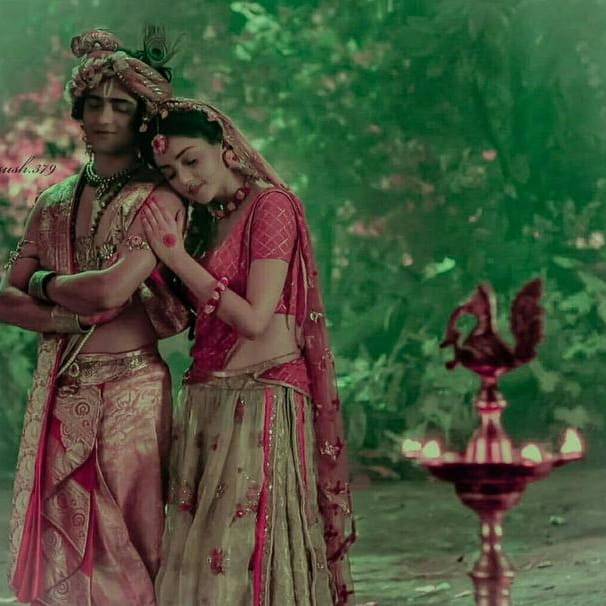 IND 彡Radha Krishna Quote彡 - जो दोस्त शुरू से आपके साथ है वही आपका