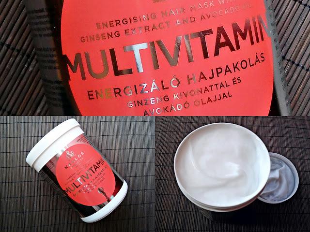 Kallos KJMN Multivitamin - Energizująca maska do włosów