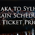 Train schedule dhaka to sylhet with Ticket price  2019