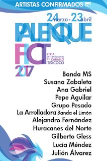 artistas palenque feria del caballo 2017