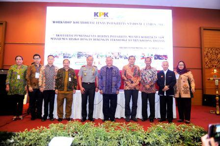 Gubernur Paparkan Kesiapan Asian Games 2018 di Hadapan KPK