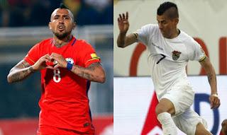 Chile vs Bolivia en Copa Amèrica Centenario