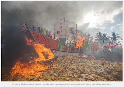 Ritual Bakar Tongkang di Bagan Siapi-api